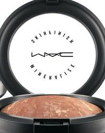 MAC: Mineral Skin Finish. This is perfect for girls looking for a natural glow. It has less coverage than the studio fix powder but leaves your skin with a very subtle sparkle. beautiful for summer time!