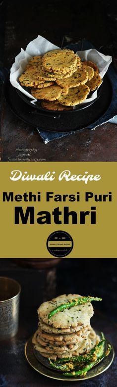 Mathi farsi Puri-Diwali Recipe