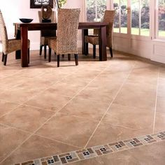 gorgeous 38 Top Ceramic Floor Tile Ideas For Your Modern Home Decoration Kitchen Floor Tile Patterns, Patterned Kitchen Tiles, Floor Patterns, Modern Flooring, Luxury Vinyl Flooring, Kitchen Flooring, Flooring Ideas, Tile Flooring, Ceramic Flooring