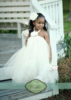 Casar & Innovate: bridesmaids Tule #flowergirl