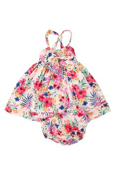 scarlett bow dress with bloomer   Cotton On