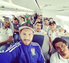 El equipo Tigres viaja para su siguiente encuentro