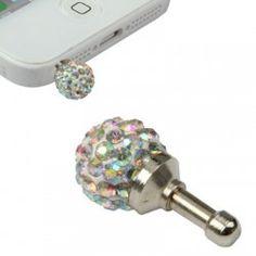 Anti dust plug Diamond Dust Plug, Cool Cases, Plugs, Technology, Diamond, Accessories, Tech, Corks, Tecnologia