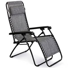 buy now   £49.99    VonHaus Textoline Zero Gravity Chair Experience the ultimate in relaxation with this reclining zero gravity chair from VonHaus. Designed to coordinate with most types of outdoor or patio furniture, this  ...Read More