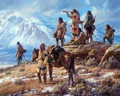 Martin Grelle is a master at capturing the essence of the Native Americans and the cowboys of the old west. Giclee canvas and paper art prints are available. Indian Artwork, Indian Paintings, Indian Face Paints, Big Dream Catchers, Park Art, Arte Pop, Mountain Man, Western Art, First Nations