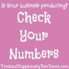 Keep your eye on your numbers to make sure your Direct Sales or Party Plan business is working.