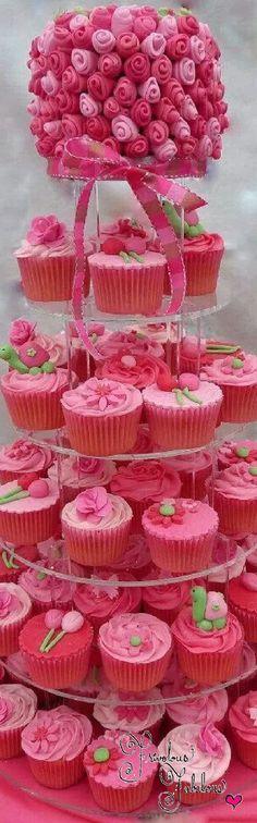 Frivolous Fabulous - Perfect Pink Cupcakes