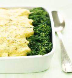 Receitas - Gratinado de Carne Picada com Bróculos e Arroz - Petiscos.com
