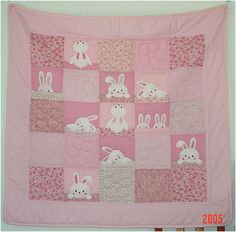 one day, for a baby girl, this is going to be her quilt...or maybe for me ;)
