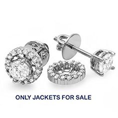 online shopping for Dazzlingrock Collection Carat (ctw) Round Diamond Halo Stud Earrings Removable Jackets from top store. See new offer for Dazzlingrock Collection Carat (ctw) Round Diamond Halo Stud Earrings Removable Jackets Women's Jewelry Sets, Cute Jewelry, Modern Jewelry, Jewelry Accessories, Diamond Earrings, Stud Earrings, Round Diamonds, White Diamonds, Halo Diamond