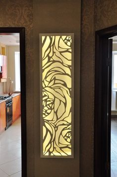 Decorative panels and stained glass Glass Design, Door Design, Wall Design, Crea Design, Laser Cut Screens, Modern Front Door, Decorative Screens, Metal Screen, Metal Panels