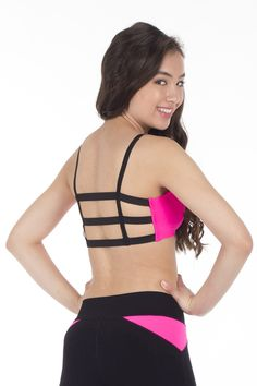 3band bra top and coordinating leggins from www.everythingpoledancing.com