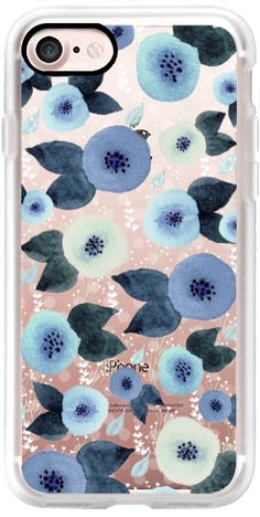 Casetify iPhone 7 Classic Grip Case - Tiny Flowers by Li Zamperini Art #Casetify