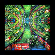 A Hundertwasser would look great in my dining room