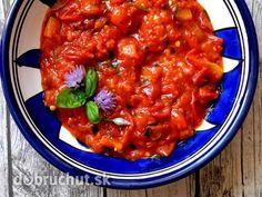 Hustá paradajkovo-baklažánová omáčka