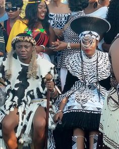 DJ Tira and his long time beau, Gugu Mbambo married in a traditional ceremony. See photos from the beautiful day. Zulu Traditional Attire, Zulu Traditional Wedding, Celebrity Rings, Celebrity Weddings, African Print Wedding Dress, Zulu Wedding, South African Celebrities, One Piece Man, African Diaspora