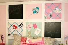 DIY tutorial on making this headboard for a tween girl's room. Alyssa?