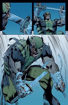 Wolverine by Alan Davis Comic Book Artists, Comic Book Characters, Marvel Characters, Comic Books Art, Comic Art, Of Wolf And Man, Logan Wolverine, Wolverine Comics, Old Man Logan