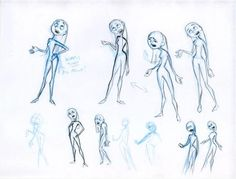 Violet concept art from The Incredibles