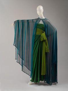 Evening dress  Yves Saint Laurent, Paris (French, founded 1962)  Designer: Yves Saint Laurent (French (born Algeria) Oran 1936–2008 Paris) Date: spring/summer 1989 Culture: French Medium: a,b) silk