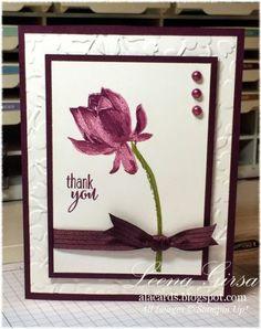 Stampin' Up! ... handmade card