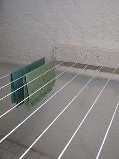 So simple, but what a life saver :) Washing line make how-to