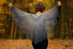 Ravelry: Wild Swan pattern by Anne-Lise Maigaard & Nim Teasdale Crochet Hooks, Knit Crochet, Knitting Patterns, Crochet Patterns, Lace Knitting, Shawl Patterns, Knitting Projects, Cable Needle, I Cord