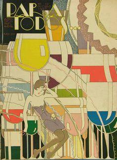 Forgotten Art Deco Marvels of a Lost 1920s Copacabana Magazine
