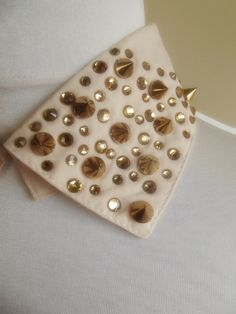 detachable peter pan collar necklace beads bridal by trendycollars, $26.00