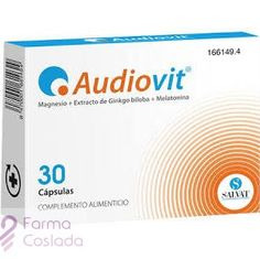 16,90€ PVP - #Audiovit cápsulas para reforzar el nervio auditivo http://www.farmacoslada.com/audiovit-30-caps-4067.html