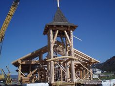 Pioneer Log Homes gallery of images of handcrafted western red cedar log homes and log cabins. Williams Lake, Cedar Log, Log Cabin Homes, Western Red Cedar, Home Pictures, Dream Homes, Building A House, Buildings, Rustic