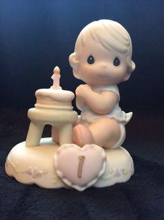 """Growing In Grace Age 1"" Precious Moment Figurine"