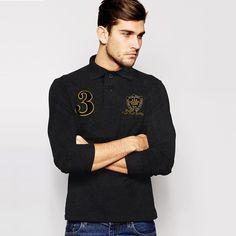 22aa240396e7 Men s Polo Republica Long Sleeve Shirt