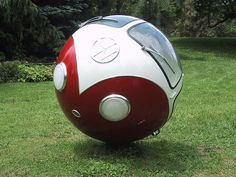 Volkswagen bus ball