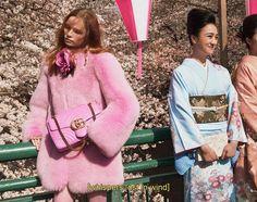 la nouvelle campagne gucci vous emmène en road trip dans la nuit de tokyo | read | i-D