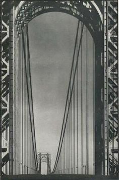 Margaret Bourke-White, George Washington Bridge, 1934