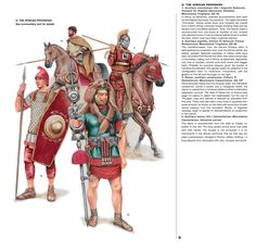 Rome; Units serving in African Provinces during 1st & 2nd Centuries AD