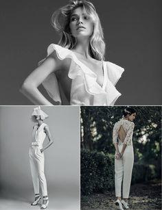 Tendance mariage: les plus belles combinaisons blanches pour se marier   Vogue