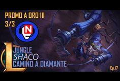 CAMINO A DIAMANTE | Shaco | Jungle | Ep. 17 - parche 6.13 - League of Legends en español