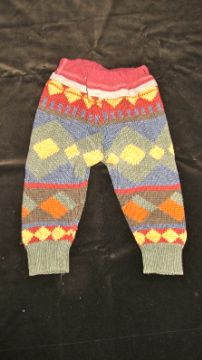 Sweater Pants , made from and old sweater