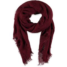 Forever 21 Forever 21 Loose Knit Fringe Scarf ($13) ❤ liked on Polyvore featuring accessories, scarves, fringed shawls, holiday scarves, forever 21, forever 21 scarves and fringe scarves
