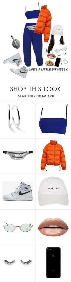 """""""Don't want to feel u/Don't want u on my mind"""" by badfashiong4l ❤ liked on Polyvore featuring Ippolita, Versace, Isabel Marant, NIKE, Cartier and Huda Beauty"""