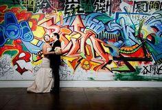 60 Inspiring And Cheerful Graffiti Wedding Ideas | HappyWedd.com