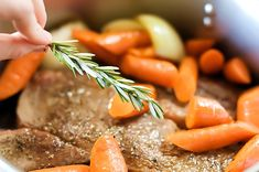 Pot roast by Ree Drummond / The Pioneer Woman, via Flickr. Take your time with this, give it the full amount of time she tells you to. You can't cheat time with a roast-it will come out tough. The longer and slower you can cook it, the more tender the meat. We loved it!!