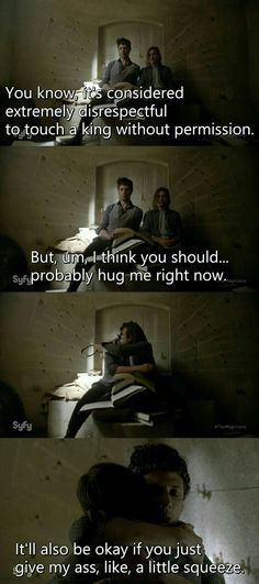The Magicians: Eliot, being the best High King.