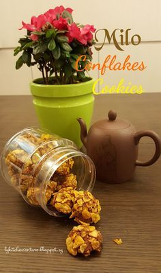 LY's Kitchen Ventures: Milo Cornflakes Cookies