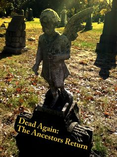 Dead Again: The Ancestors Return- Prayers in any language are sacred and holy. The #ancestors should be important to all of us. We should recognize and celebrate whichever way they choose to return to us- be it rediscovering an old recipe or headstone, a song we can't get out of our head, or the smile of a newborn relative that we haven't recognized in generations. Many blessings to you and your ancestors !