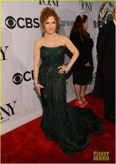 Audra McDonald & Bernadette Peters - Tony Awards 2013 Red Carpet
