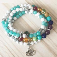58e259a0f Chalcedony Stone, Tourmaline Stone, Chakra Stones, Beaded Wrap Bracelets, Beaded  Necklace,