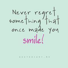 Make you smile.